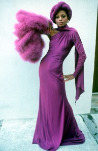 Diana Ross in Gown from