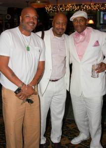 Dapper men at Sheila D's White party