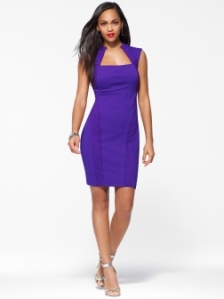 Textured purple Dress $178 Cachet